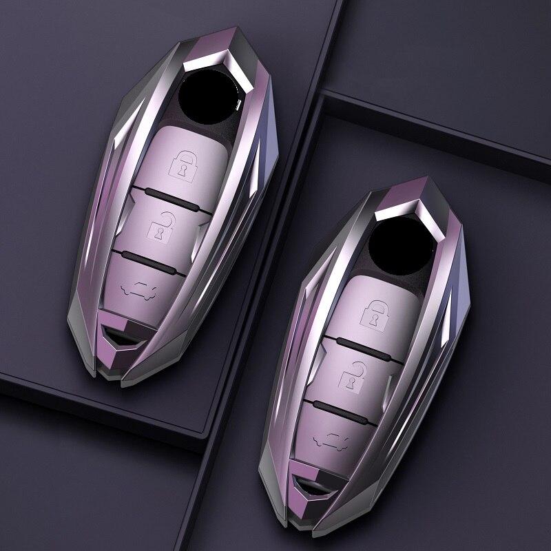 New metal Car Remote Key Cover Case For infiniti FX35 FX37 FX50 G25 G35 G37 JX35 M35 M37 M45 Q70